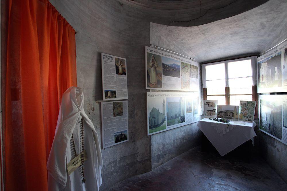Esposizione al castello di Bardi